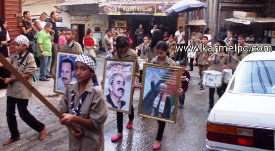 Beddawi refugee camp in Lebanon remembers Abu Ali Mustafa