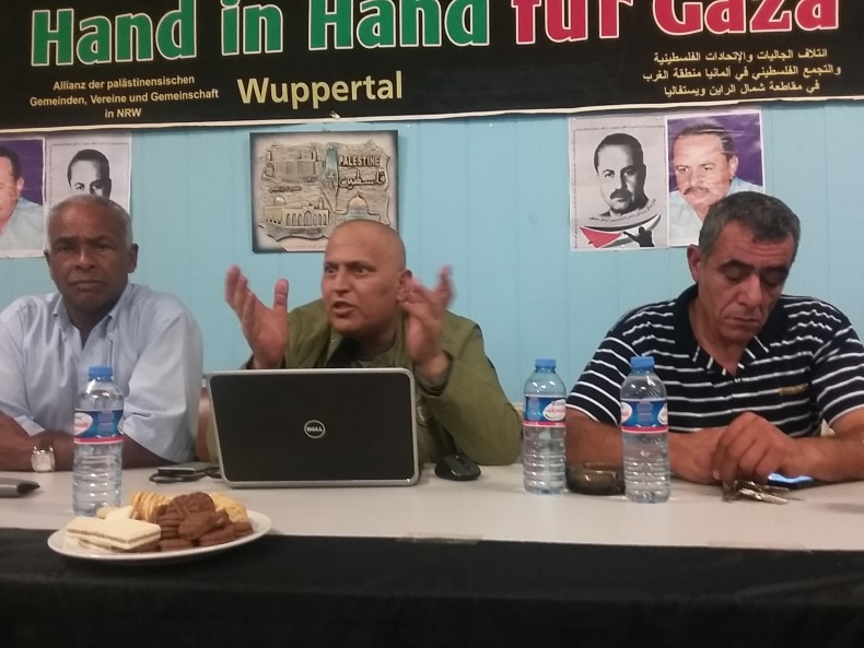 Wuppertal Abu Ali Mustafa commemoration – Barakat: Palestinian masses must rise to liberate their cause