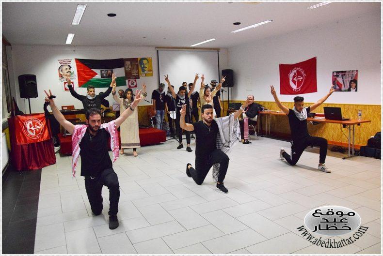 Palestinians in Berlin commemorate Abu Ali Mustafa with cultural and political event